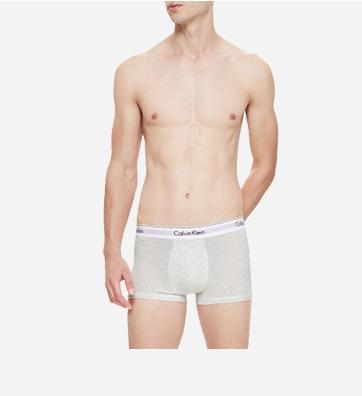 男士新款两条装平角内裤
