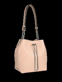 女士新款小号牛皮桶型背提包 GH0132 T7900
