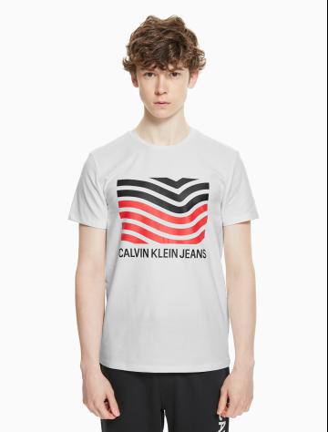 男士新款短袖印花T恤 J311713