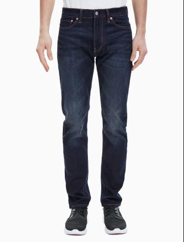 男士新款修身直筒版37.5牛仔裤 J311755