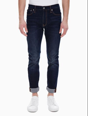 男士新款修身合体版37.5系列牛仔裤 J311806