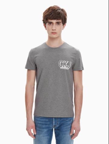 男士新款LOGO圆领短袖T恤 J312219