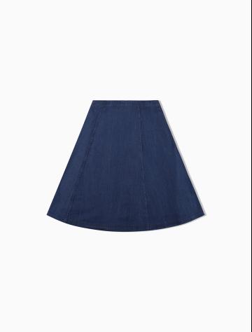 女士新款牛仔休闲短裙 J211351