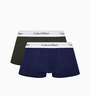 男装新款两条装平角内裤
