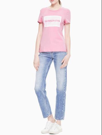 女士新款LOGO短袖T恤 J210495