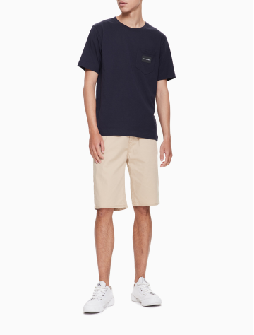 男士新款圆领短袖T恤 J312320