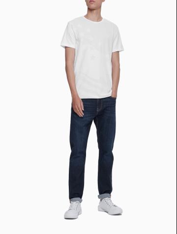 男士新款圆领短袖T恤 J312673