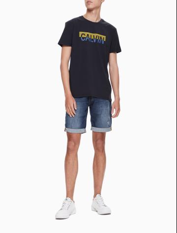 男士新款LOGO圆领短袖T恤 J312675