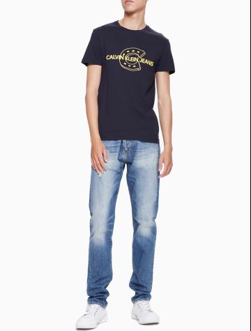 男士新款纯棉圆领短袖T恤 J312210