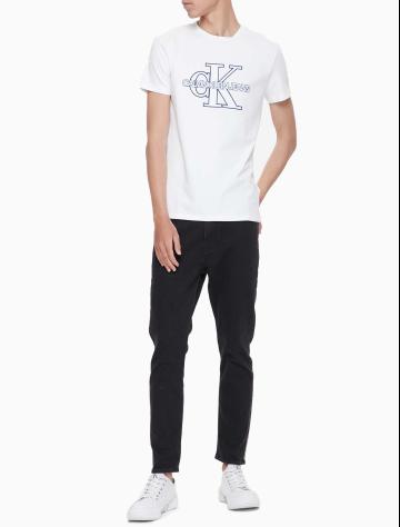 男士新款LOGO圆领短袖T恤 J312224