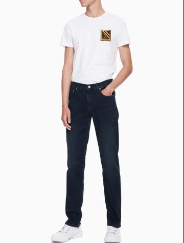 男士新款合体紧身版牛仔裤 J312013
