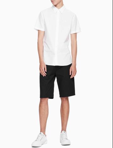 男士新款短袖衬衫 J311502