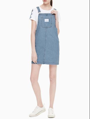 女士新款纯棉牛仔连衣裙 J211682