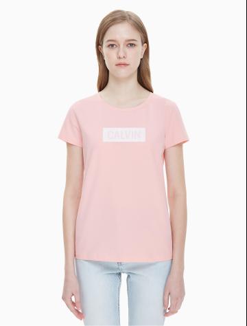 女士新款短袖LOGO圆领T恤 J211694