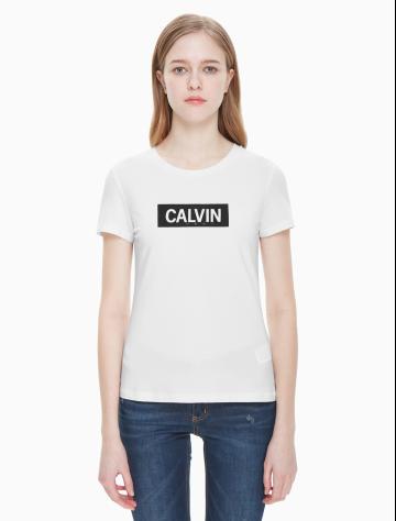 女士新款LOGO短袖圆领T恤 J210507
