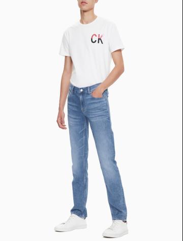 男士新款合体紧身版牛仔裤 J311822