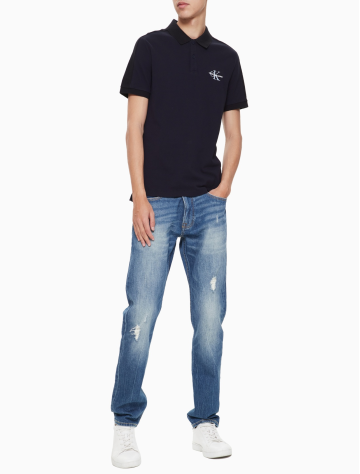 男士新款短袖纯棉POLO衫/T恤 J311182