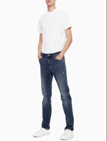 男士新款修身合体版牛仔裤 J311804