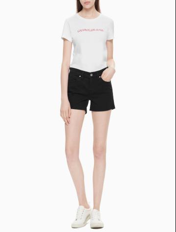 女士新款简约休闲短裤 J211283