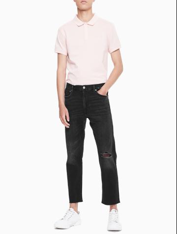 男士新款直筒版牛仔裤 J310757