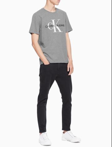 男士新款LOGO纯棉短袖T恤 J312206