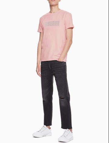 男士新款LOGO短袖圆领T恤 J312164