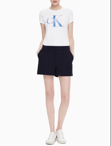 女士新款简约工装款休闲短裤 J210360