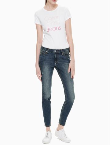 女士新款塑形六袋紧身版牛仔裤 J210912