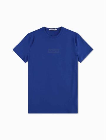男士新款LOGO圆领短袖T恤 J312865