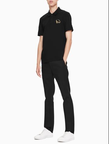 男士新款POLO衫针织休闲T恤 M77128C7G1C