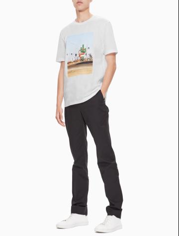 男士新款印花纯棉上衣/T恤 M75783CM038C