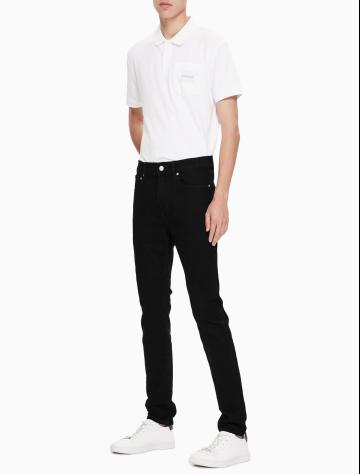 男士新款中低腰合体紧身版牛仔裤 J311760