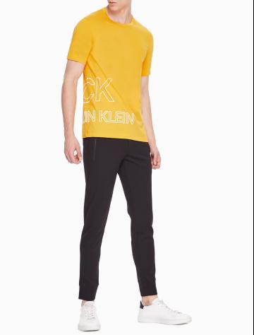男士新款纯棉圆领短袖针织休闲T恤 M76876C111C