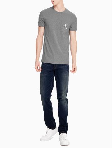 男士新款短袖LOGO圆领T恤 J312162