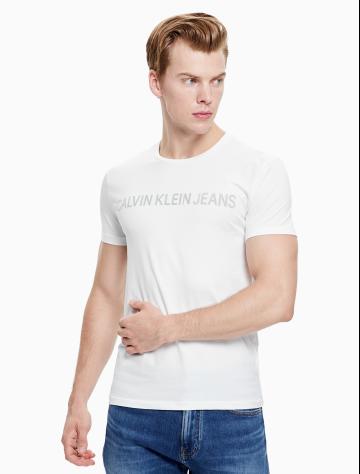 男士新款LOGO圆领短袖T恤 J312160