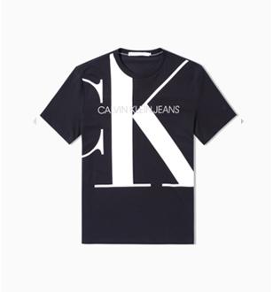 男装棉质Logo休闲短袖T恤