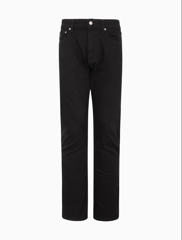 男士楔形牛仔裤